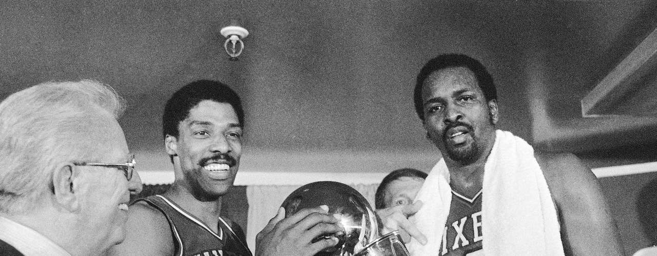 Nets sell Dr. J to Sixers (1976): In the dying days of the ABA, desperate Nets owner Roy Boe sold Julius Erving (left) for $3 million to the Philadelphia 76ers. The Nets, who had won back-to-back ABA championships with the 'Doc' leading them, would not be a contender until the early 2000s, while Erving led the Sixers to four NBA finals, was an 11-time All-Star, the 1981 MVP and won a championship with the team in 1983.