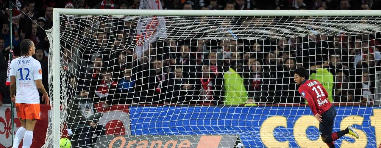 Lille lució en casa con un contundente 4-1 sobre Montpellier.