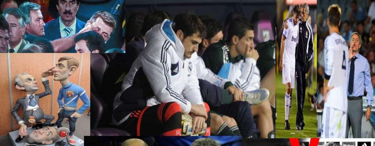 Conoce las decisiones, declaracioneso acciones que han 'salpicado' a José Mourinho y, por ende, al Real Madrid, desde la llegada del técnico portugués al equipo \