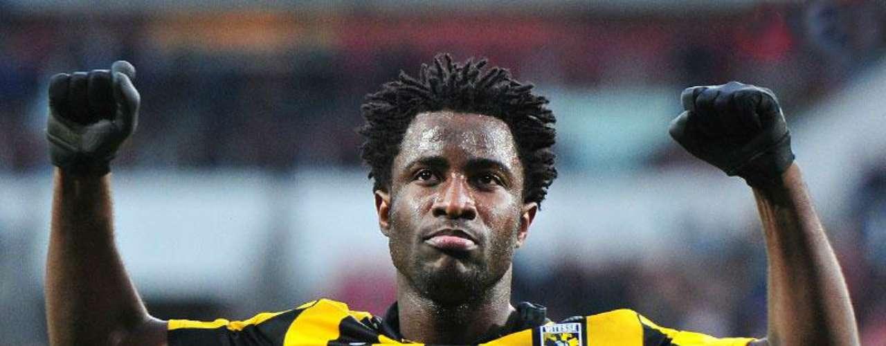 Wilfred Bony, del Vitesse Arnhem, ha anotado más que nadie en la Eredivisie (16).