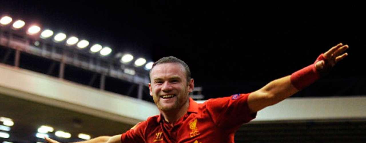 Wayne Rooney prefiere caminar solo antes de festejar como jugador del Liverpool