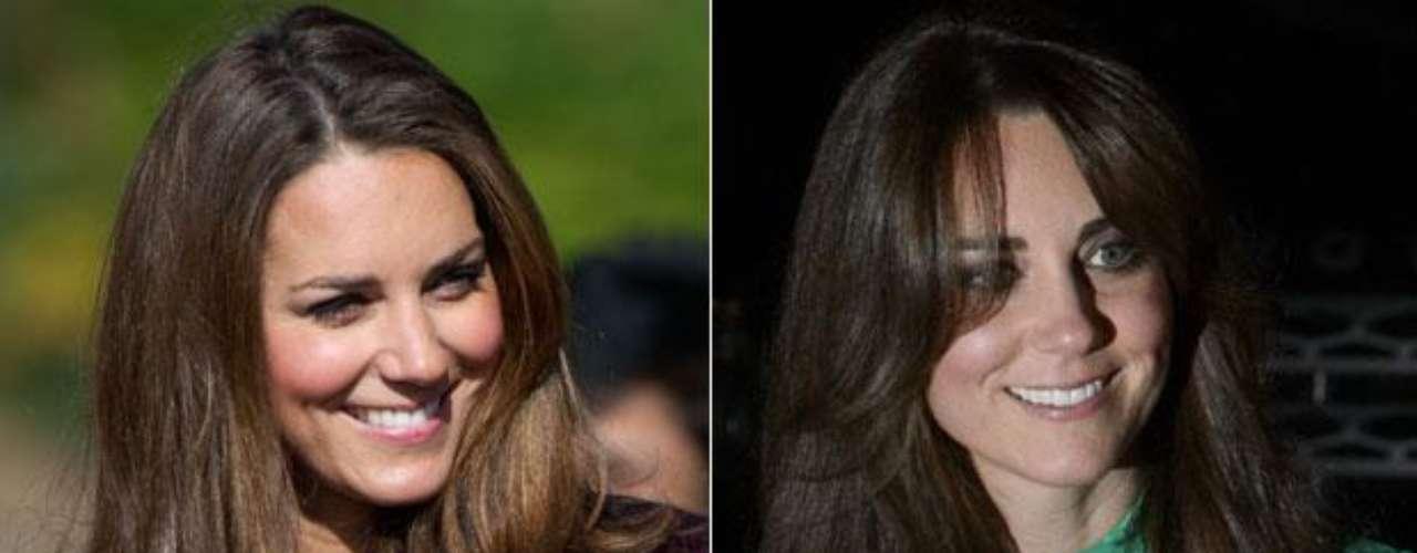 Kate Middleton: el cambio de Kate fue suave, oscureció su cabello.