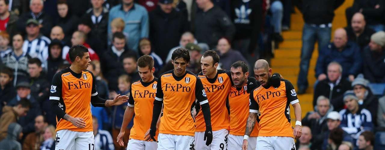 Fulham rescató un valioso triunfo 2-1 en calidad de visitante contraWest Bromwich.