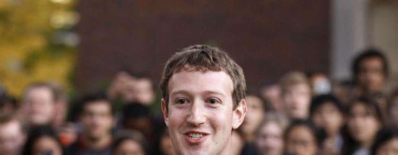 1 - Mark Zuckerberg -CEO de Facebook (US$ 498,8 millones)