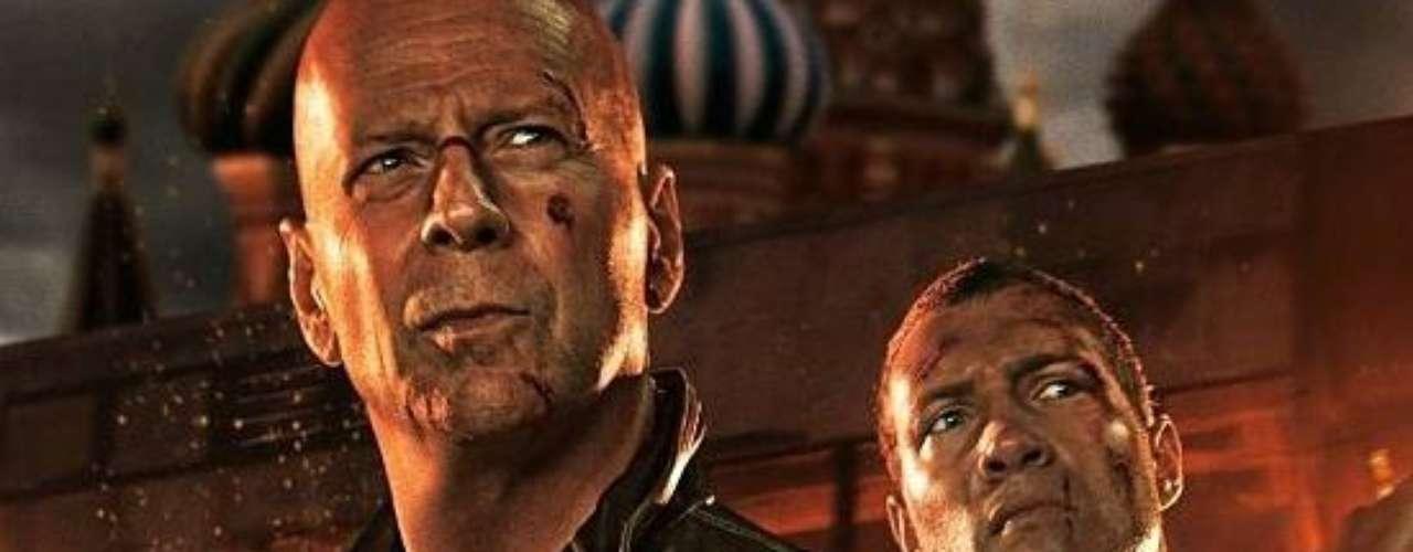 A GOOD DAY TO DIE HARD (14 de febrero)  John McClane regresa seis años después a las andadas, ahora acompañado de su hijo, para unirse contra las fuerzas del mal, o sea la política.
