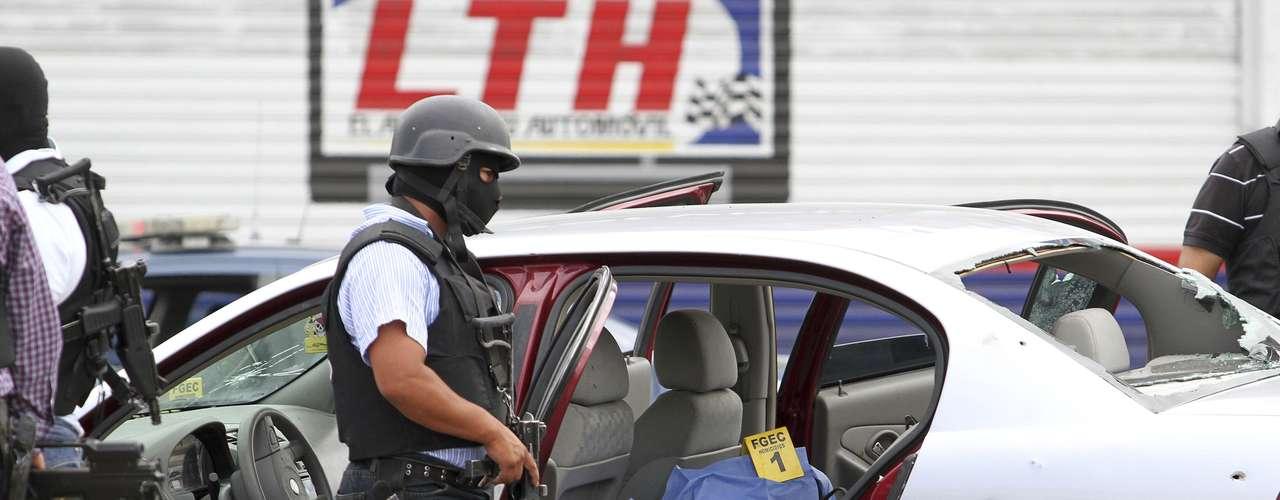 Situada en la frontera con Estados Unidos, en el estado de Chihuahua, y escenario frecuente de las acciones del crimen organizado, Ciudad Juárez, con 1,3 millones de habitantes, cerró 2012 con 784 homicidios.