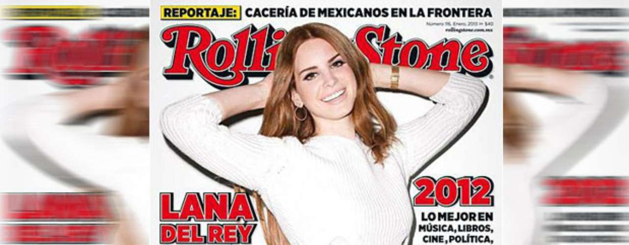 JANUARY 3 - Songstress Lana Del Rey flashes her pearly whites on the cover of Rolling Stone Mexico.