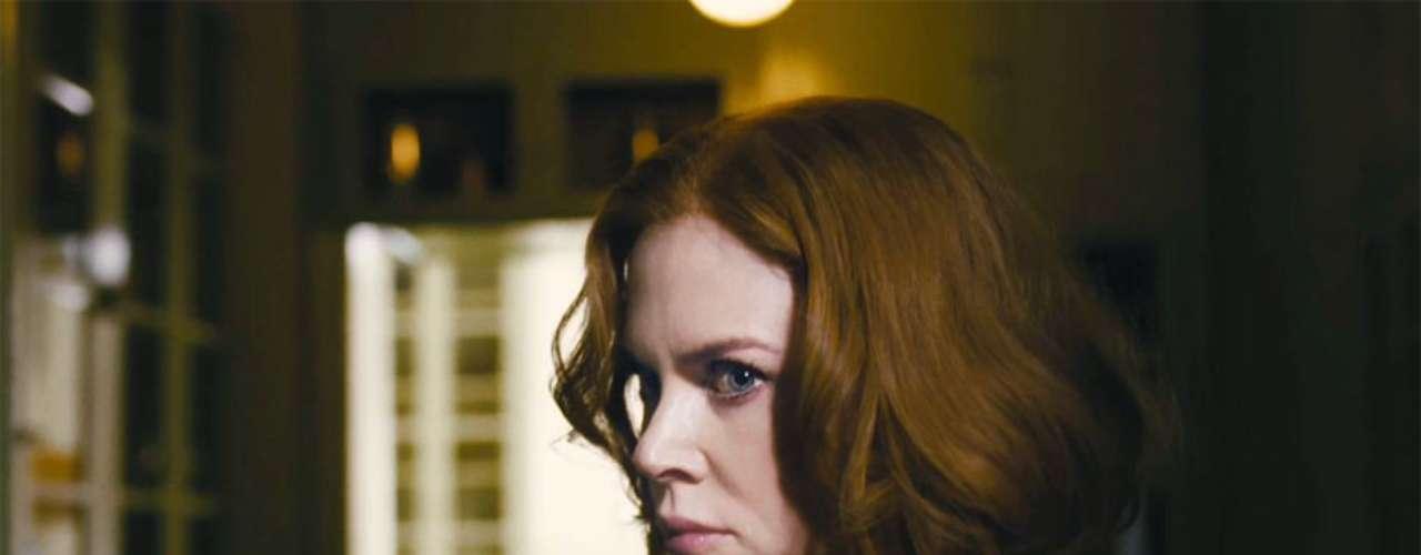 STOKER (28 de febrero)  ¿Nicole Kidman de bruja villanísima perversa? Yes, please! El avance de esta película está para ponerle los pelos de punta a uno. Cuando el tío Charlie se va a vivir con ella y su hija (Mia Wasikowska), la obsesión se apodera de ambas. Escrita por ¡Wentworth Miller! (el protagonista de Prison Break).