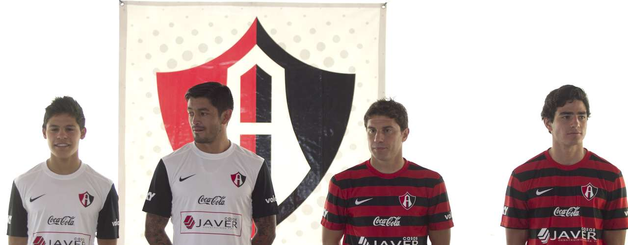 The players showed off the uniforms earlier this week as they prepare to kick off the Clausura 2013 this weekend.