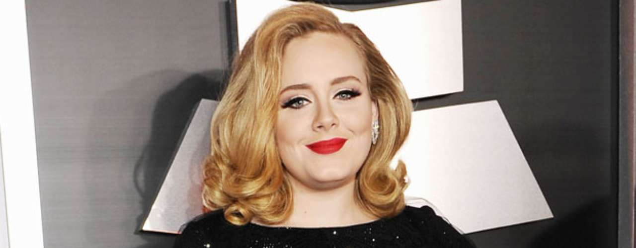 JANUARY 4 - No one can knock Adele from the top! The \