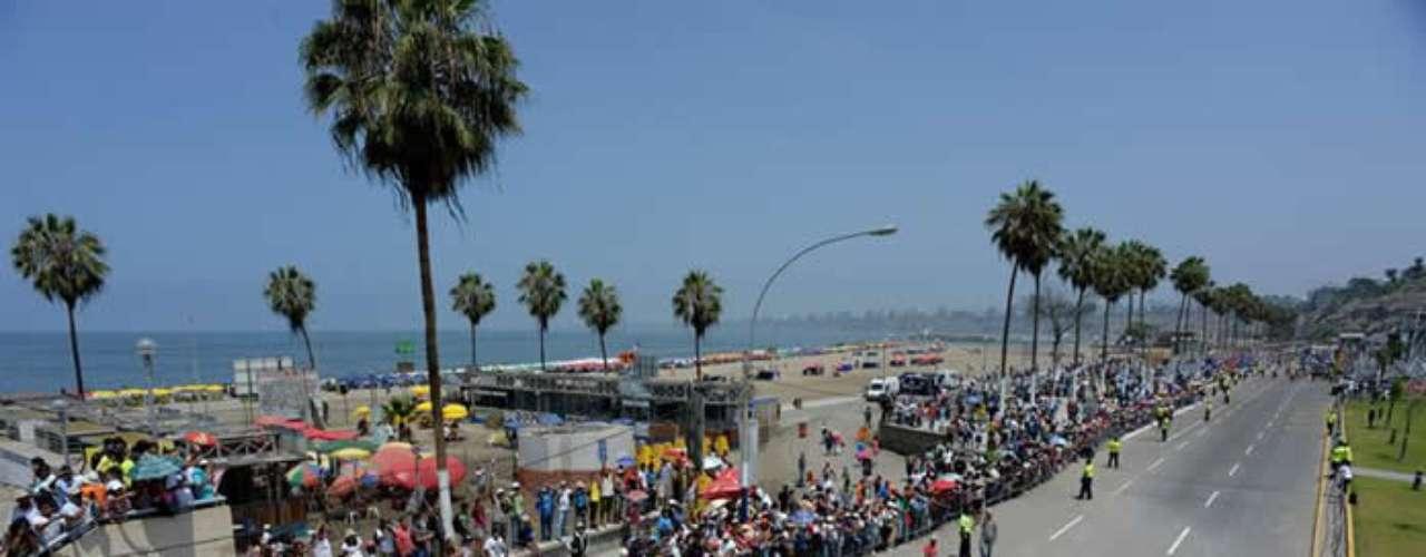 El certamen dio inicio en Lima y la especial culiminó en Pisco, donde Ignacio Flores, \