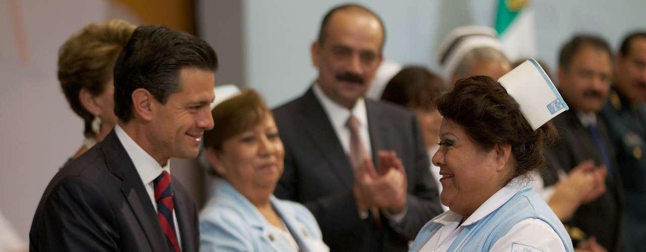 Peña Nieto adelantó que este año se ejercerán más del doble de recursos que en 2012 en el rubro de proyectos de infraestructura en salud.