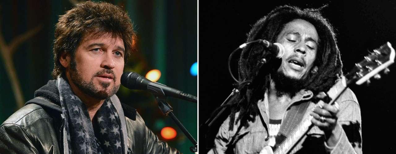 La leyenda del reggae, Bob Marley, ha vendido menos discos que el LP de Billy Ray Cyrus, \