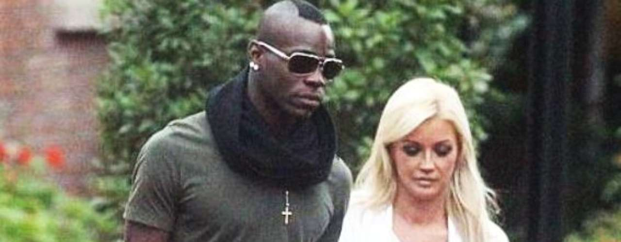 PLAYBOY. While Balotelli's then girlfriend Rafaella Fico was in Italy for work, he was seen with adult actress Holly Henderson outside of a Marriott hotel in Manchester. He was also linked former miss Italy Emilia Melissa Castagnoli, Playboy playmate Sophie Reade, and with model Faye Evette.