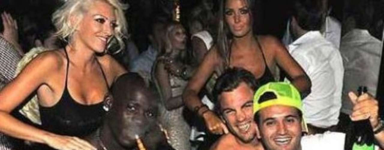 NIGH OWL. In May 2012, Balotelli threw a party with four escorts, which lasted about  hours. The party happened the day before his club had a crucial title match which in the end the team won.