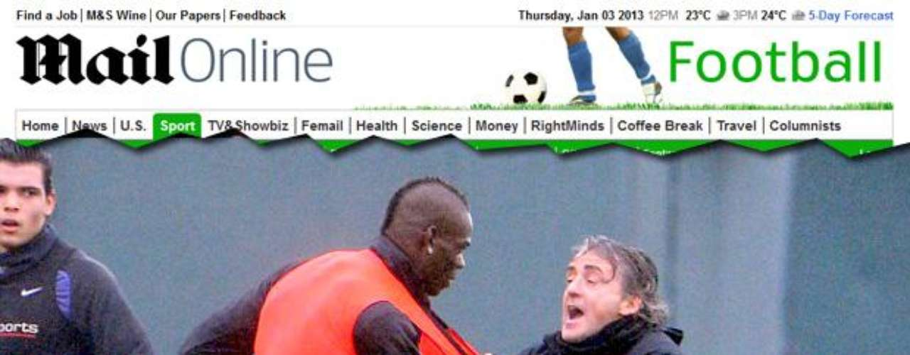 FIGHTER. Balotelli's latest incident was in January 2013 when he did a very hard tackle of teammate Gael Clichy during training. The incident made coach Roberto Mancini go nuts and went to confront Balotelli and pulled his jersey. They had to be seprated before things turned worse.