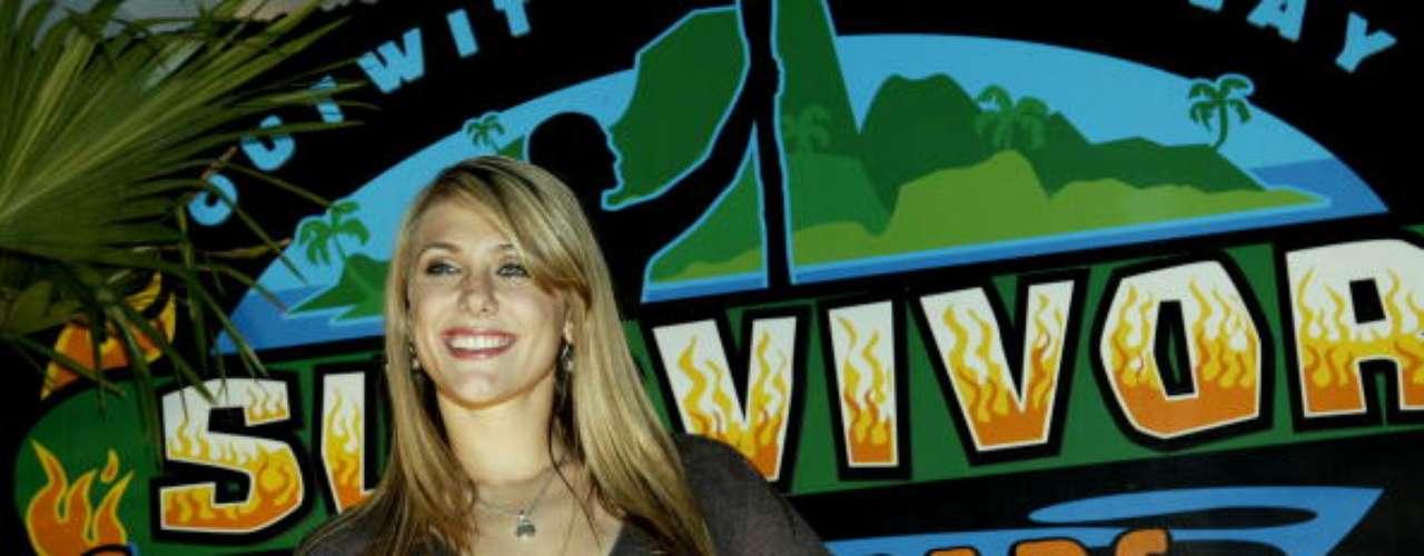 Jenna Lewis participó en la primera y octava temporada del reality show \