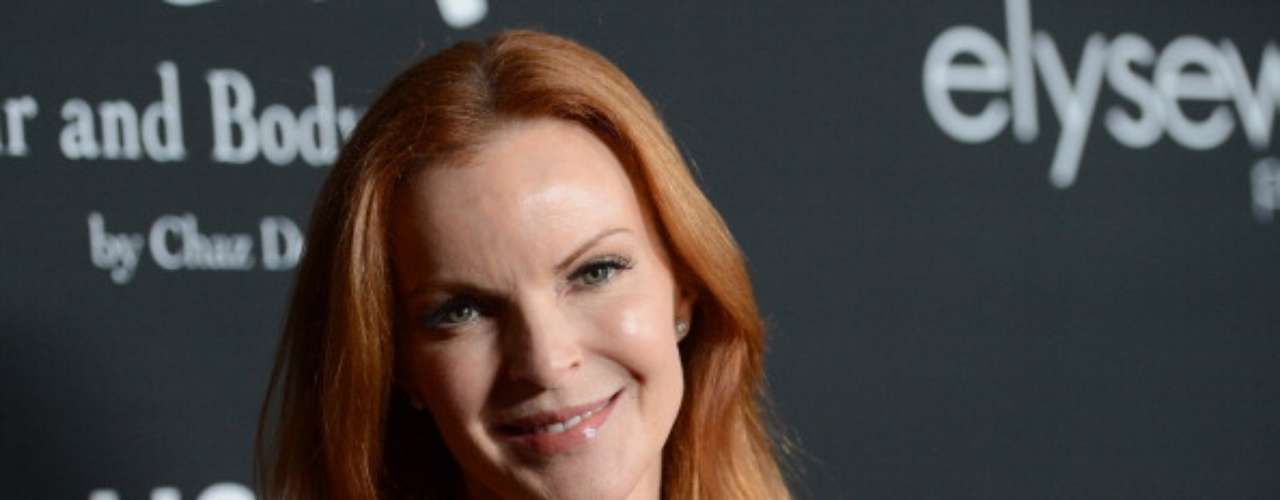 Marcia Cross de 'Desperate Housewives' fue víctima de un hacker que le publicó varias fotos desnuda.