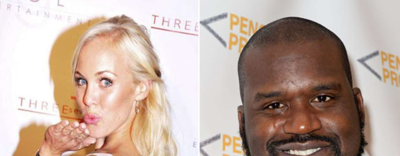 Shaquille O'Neal had some very embarrassing texts released regarding his relationship with Swedish model/actress Dominica Westling. The details are two sordid for Terra.