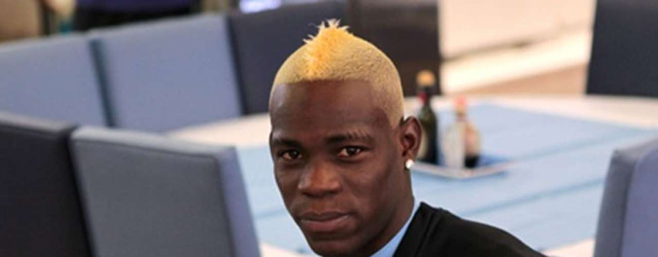 His latest look, unveiled at training today, goes all out blonde.