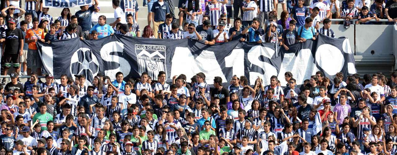 Monterrey has had the same 'tradition' with its own fans.