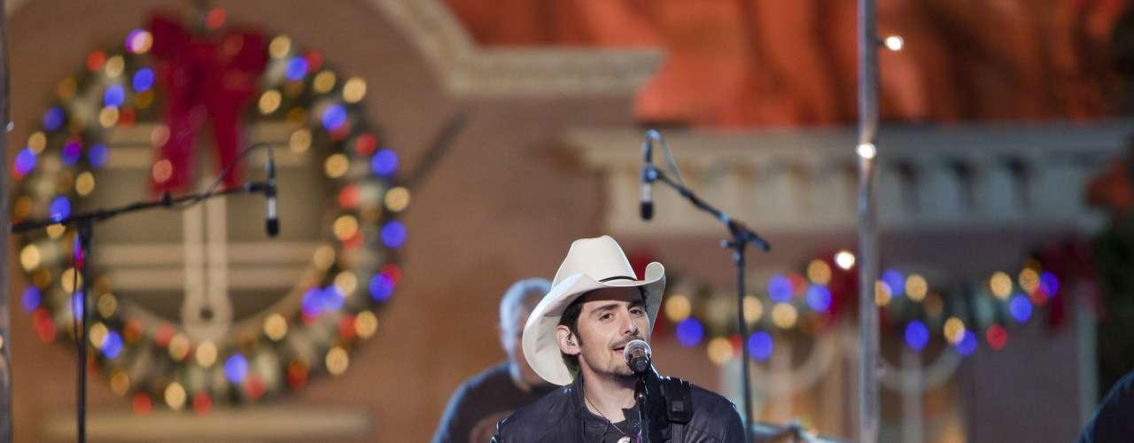 Country singer Brad Paisley.