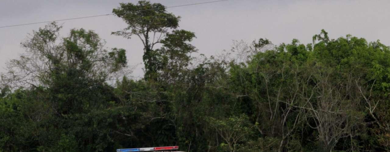 Guatemala comparte con México casi 1.000 km de frontera, en gran parte selvática, escasamente vigilada por las fuerzas de seguridad y permeada por cientos de pasos ilegales.