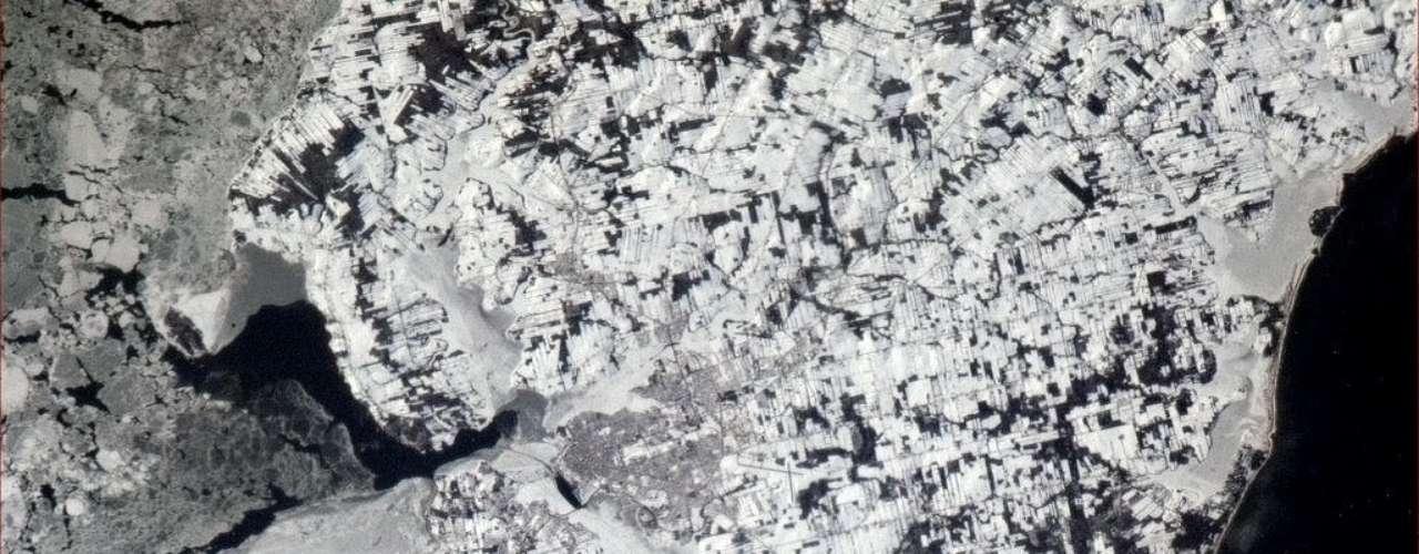 Charlottetown, PEI. El lugar de nacimiento de la Confederación de Canadá, visto desde la órbita por un canadiense, 146 años más tarde.