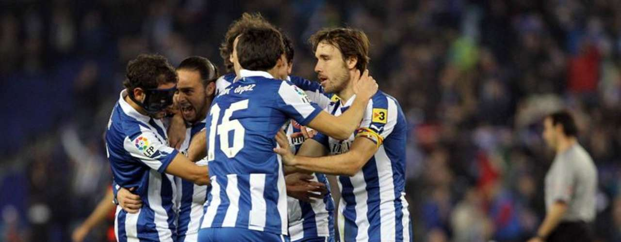 Espanyol escaped relegation for now with a 1-0 win over Celta.