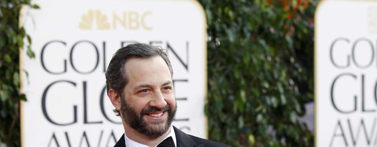 El director Judd Apatow no podía perderse la premiación