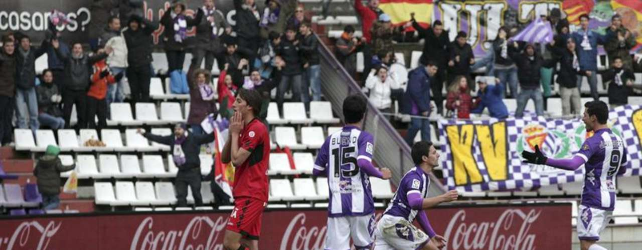 Valladolid didn't have any problem beating Mallorca 3-1.