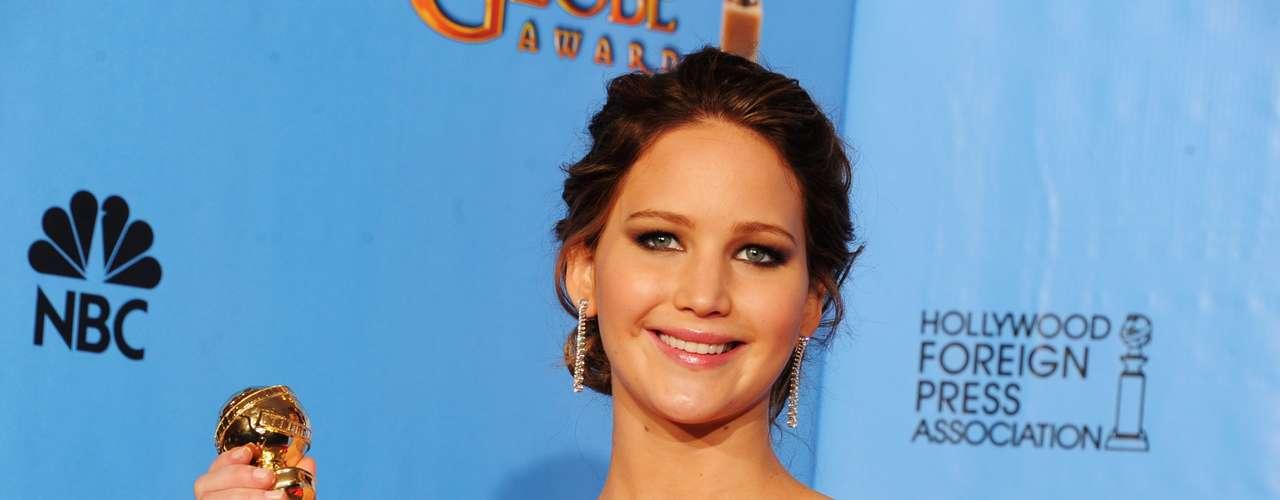 Pero no fueron solamente las presentadores que usaron a Meryl Streep para hacer un chiste ya que Jennifer Lawrence dijo, \
