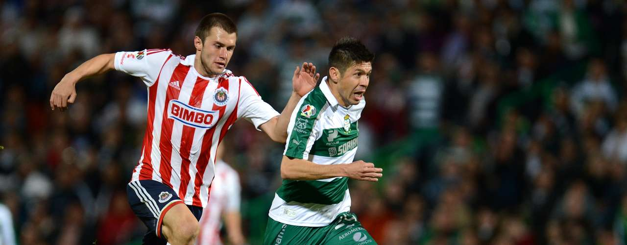 Santos beat Chivas at Torreón to give Caixhina his first win.