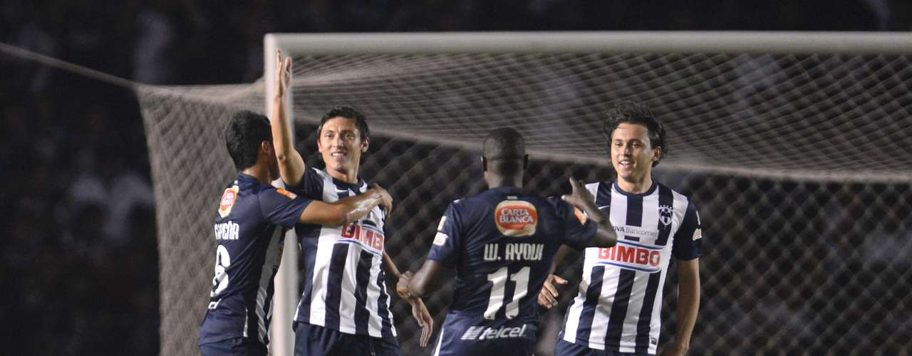 Neri Cardozo scored the winning goal for Monterrey against Monarcas.