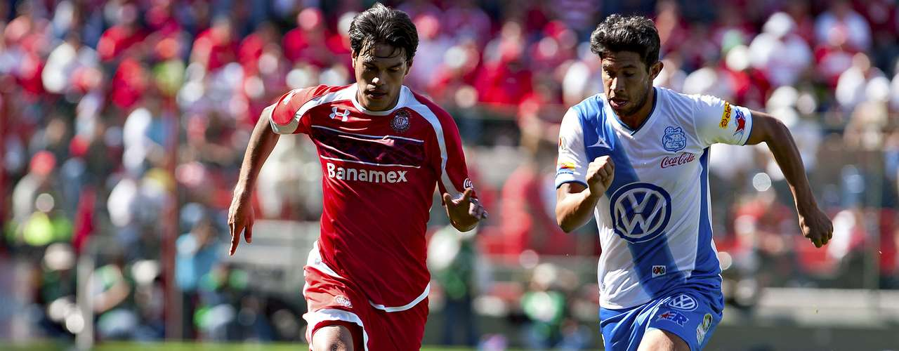 Toluca rescued a 1-1 draw against Puebla.