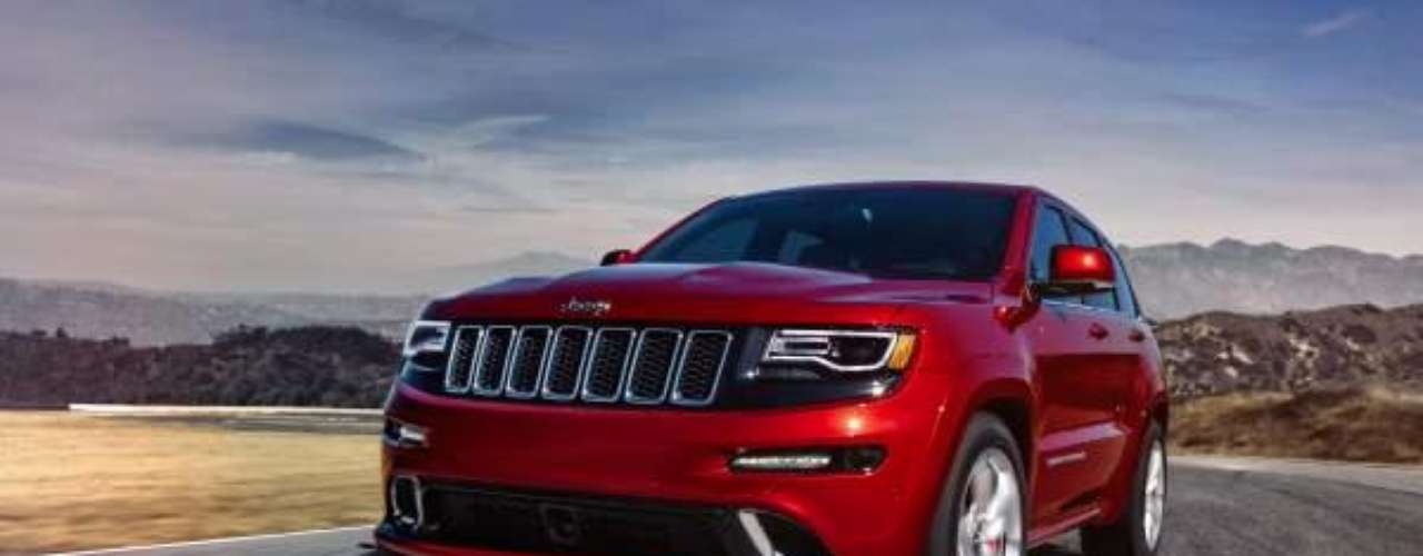 Foto Jeep Grand Cherokee SRT 2014