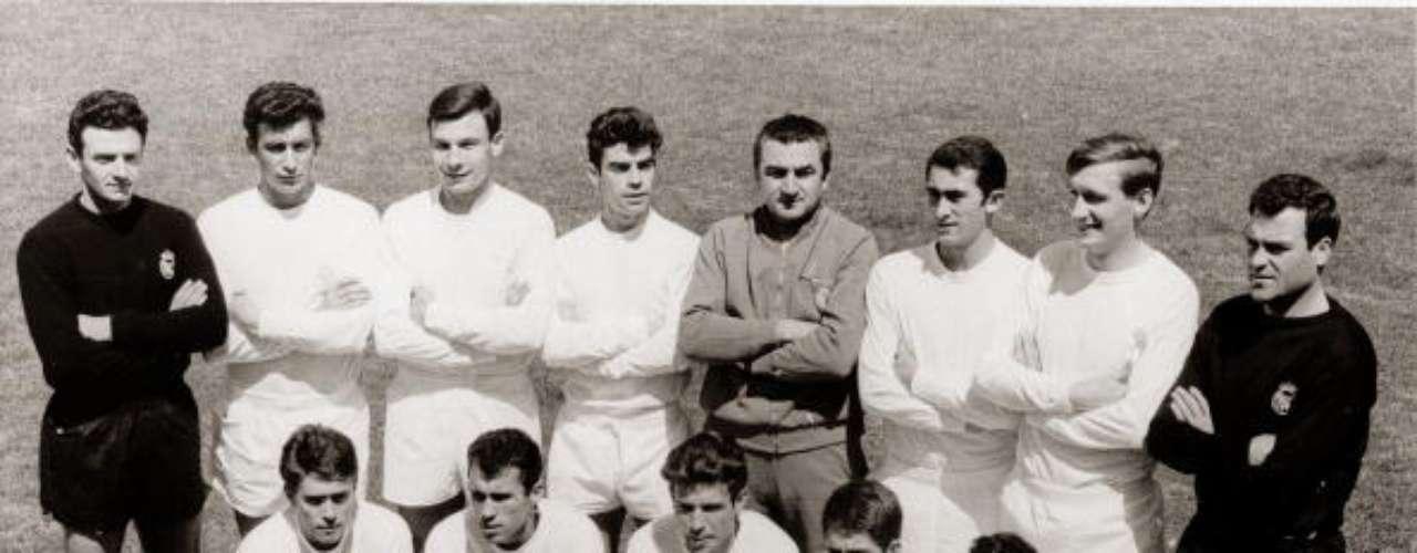 Real Madrid sumó su sexta 'Champions' al vencer al Partizan de Belgrado 2-1 en la campaña 1965-66 con goles de Amancio y Serena.