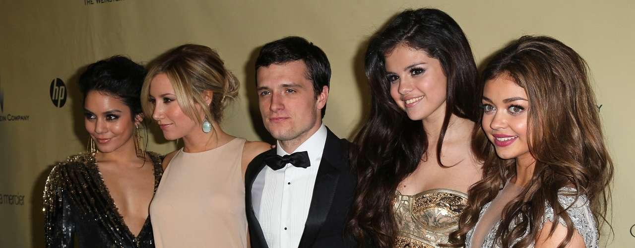 Vanessa Hudgens, Ashley Tisdale, Josh Hutcherson, Selena Gomez y Sarah Hyland.