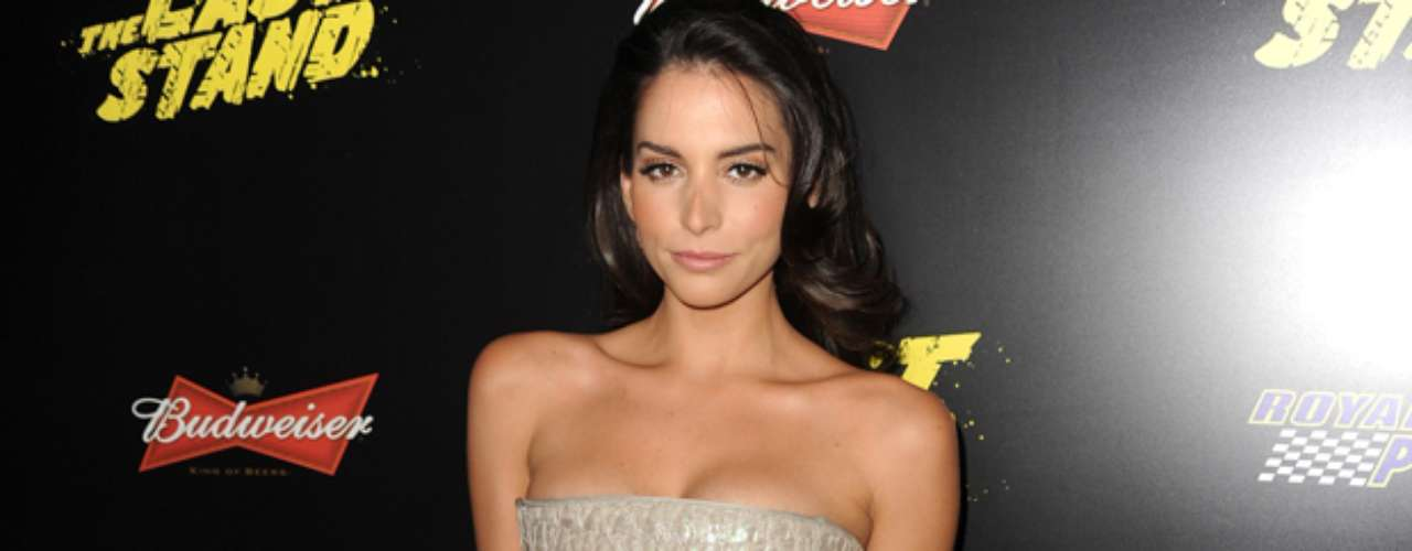 Genesis Rodriguez was bound to have a wardrobe malfunction at \