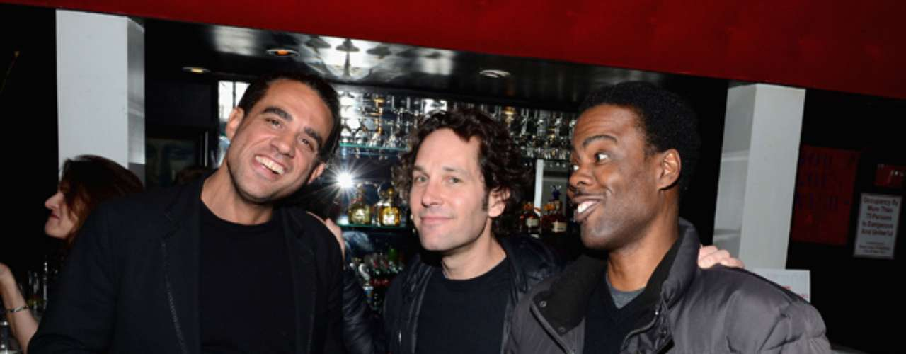 The star-studded event included big name celebs such as Bobby Cannavale, Paul Rudd and Chris Rock.