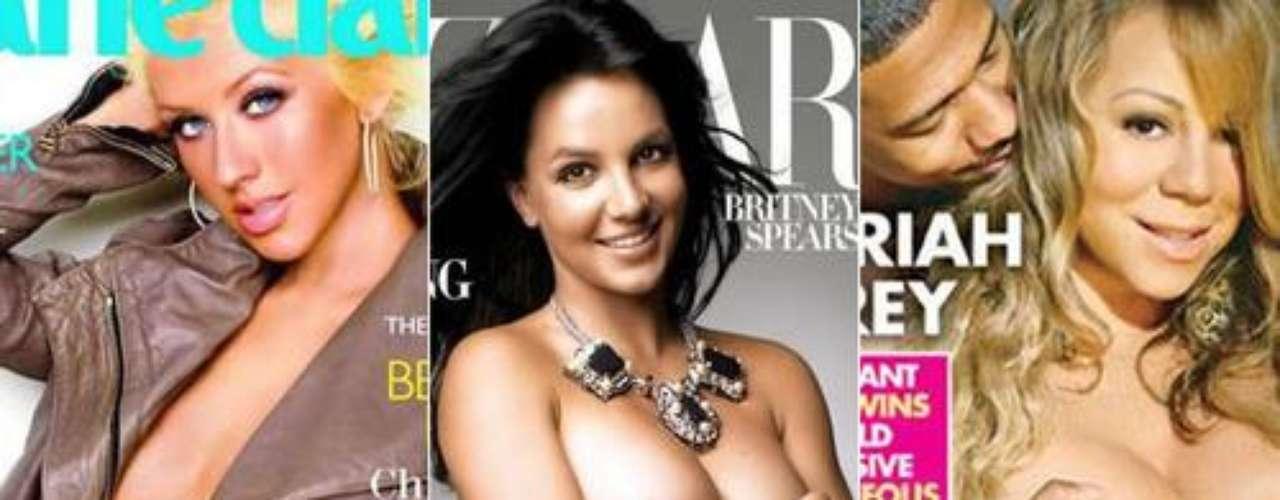 Son varias las famosas que se han atrevido a posar con sus prominentes barrigas de embarazo. Mira el cuerpo de las celebridades antes de dar a luz.