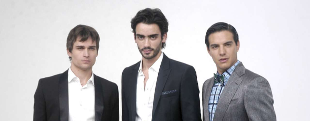 OMG!  This show is chock full o' hunks.  Jon Ecker, Diego Amozurrutia and Vadhir Derbez will surely heat up the screen.
