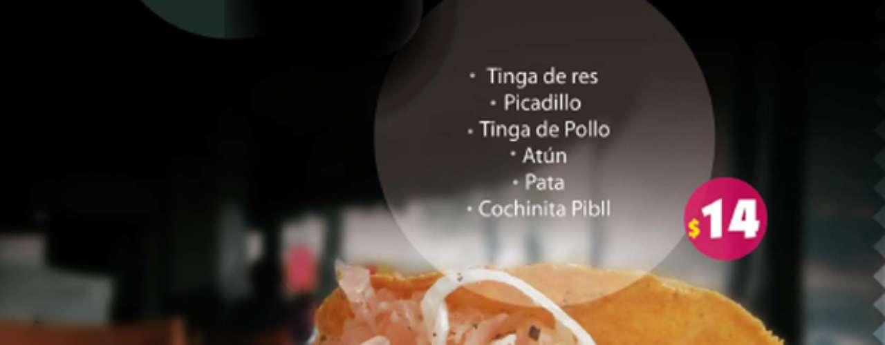 Fonda Don Melchor. Una fonda con mucho estilo se suma a nuestra lista. Su menú abarca sopes, tlacoyos, quesadillas, todas por $14. Si quieres algo más sustancioso puedes probar los huaraches o las flautas por $37. Y ya entrándole a los platos fuertes, hay pozole o pancita por $40. Para darle el toque vintage, tienen refrescos Lulú, ah y también cerveza y hasta vino. Dirección: Plaza Melchor Ocampo no. 12, Esquina con Río Nazas, Col. Cuauhtemoc. http://www.donnablanca.com  Si el dinero no te importa y también quieres comer delicioso, da clicy conoce: