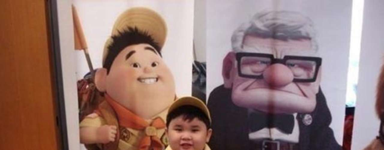 El niño de la película \