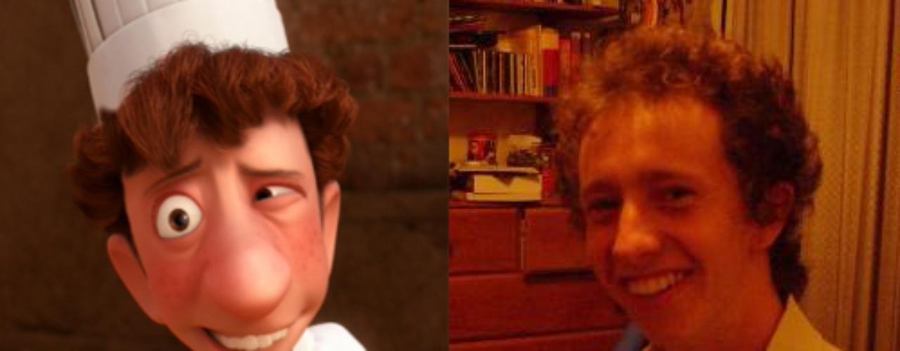 El cocinero Linguini de la película \