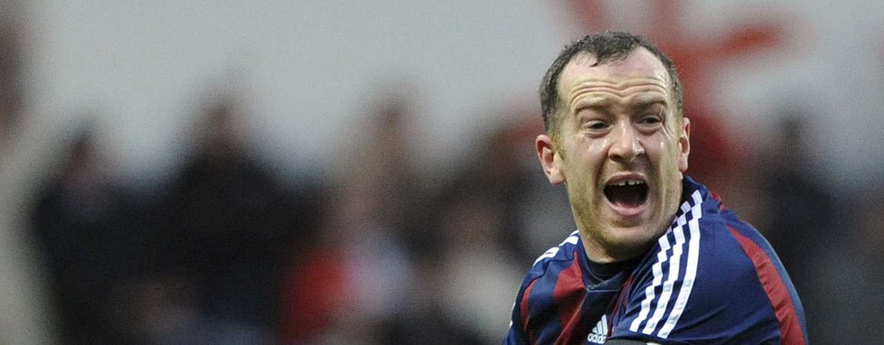 Stoke City's Charlie Adam gestures to the referee during their English Premier League soccer match against Swansea City.