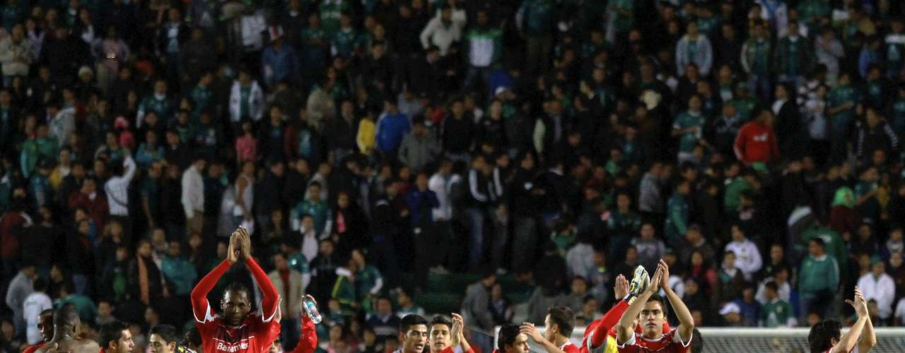 Toluca celebrated its first victory of the season after starting with two ties.