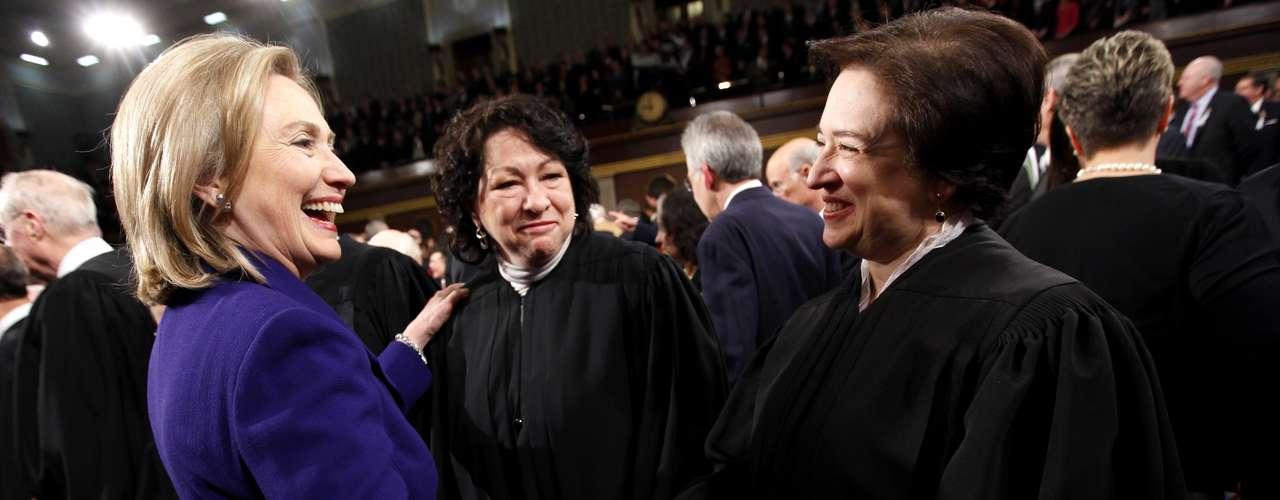 Sotomayor fue elegida en 2009 por el presidente Barack Obama para integrar la Corte, la elección \