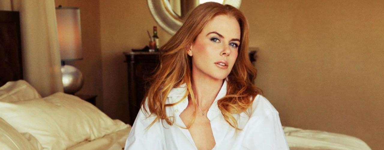 Nicole Kidman posó para ruven Afandor.