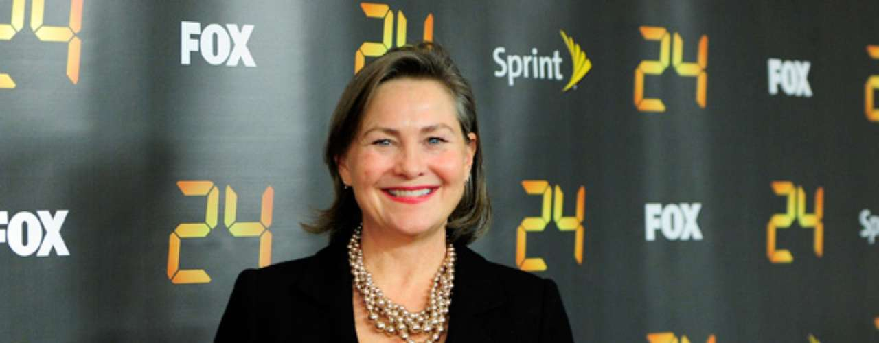 Cherry Jones took the bull by the horn as President Allison Taylor in \